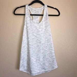 Lululemon White Essential Tank Top